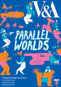 ParallelWorlds2019 - Poster design by Yuk Fun