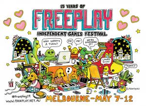 Freeplay 2019 - Design by Bjenny Montero
